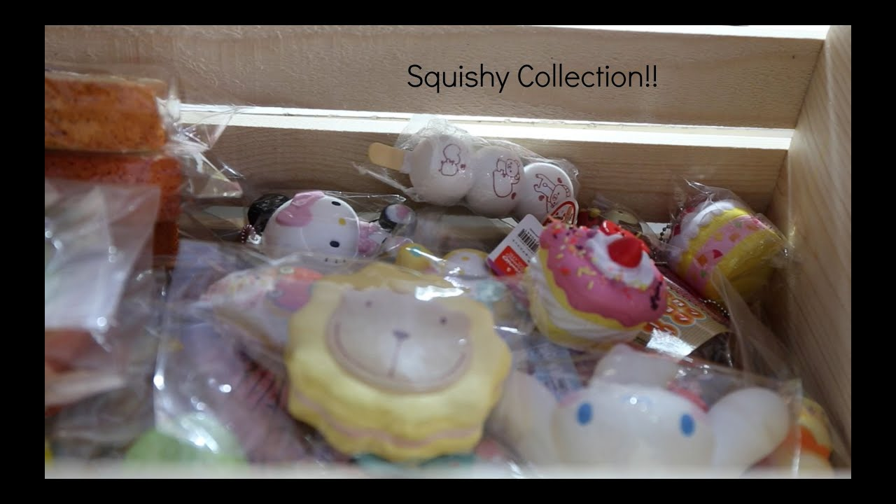 My Squishy Collection 2015 : My WHOLE Squishy Collection!! CharmsLOL - YouTube