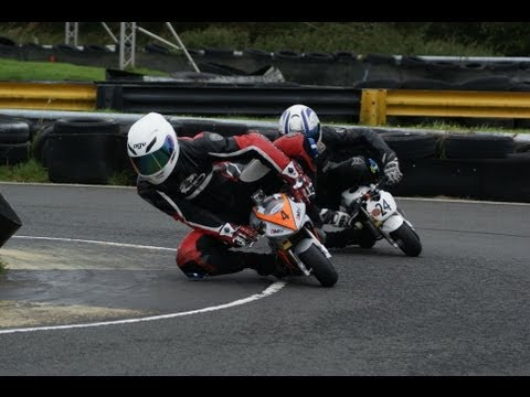 Round 5 - Scottish MiniMoto Championship - Knockhill 22nd September 2013 - Race Two
