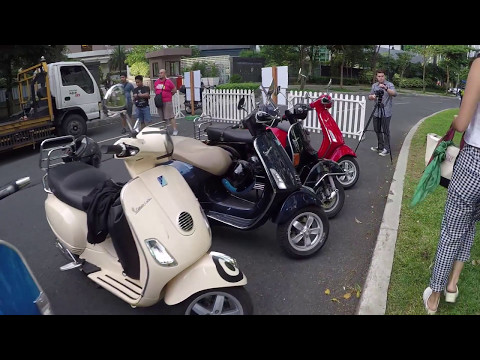 Vespa Philippines launches 3 new models!