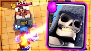 Clash Royale - GIANT SKELETON x CANNON CART? OP Deck