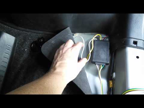 Scion XB Tow Hitch Wiring Install