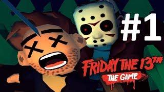 Пятницу 13 играем на телефоне! обзор игры про Джейсона Вурхиза - Friday the 13th: Killer Puzzle