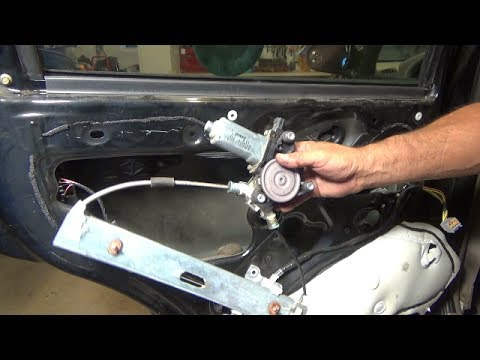 Rear Door Window Motor Replacement Going Bad 2001 2007