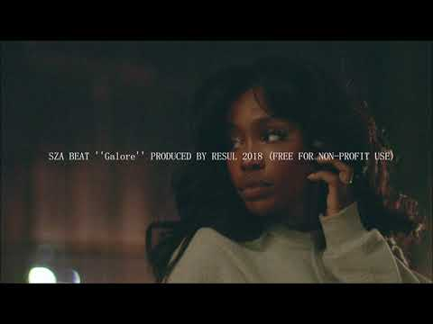 SZA BEAT ''Galore'' PRODUCED BY RESUL 2018 (FREE FOR NON PROFIT-USE)