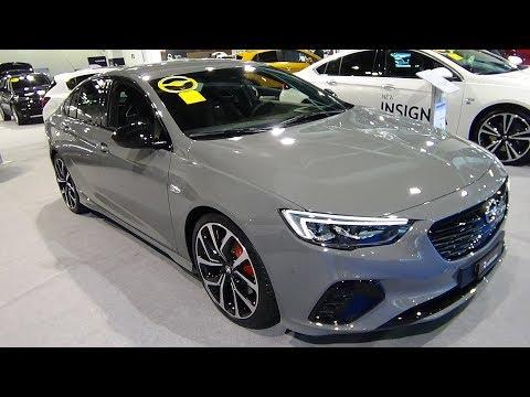 2018 Opel Insignia GSI - Exterior and Interior - Auto Zürich Car Show 2017