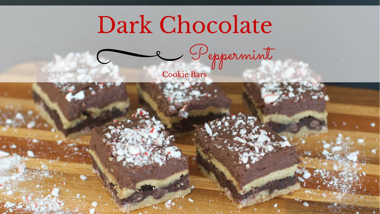 Nestle Dark Chocolate Peppermint Cookie Bars from How I ...