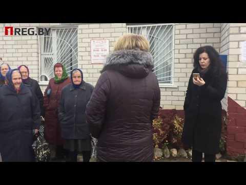 """Чиновники боятся камер """"Першага Рэгіёну"""" Жичин Березовский район 20 11 2017"""