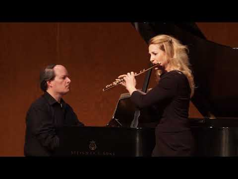 Amy Porter, flute, and Christopher Harding, piano, Perform Mozart's Andante in C Major, K. 315