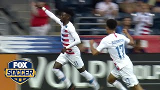 Watch Zimmerman, Sargent & Weah score their first goals for the USMNT | FOX SOCCER
