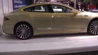 Rinspeed XchangE Driverless Car Concept 2013 Videos