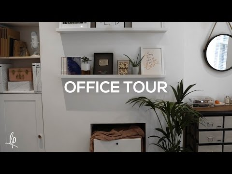 HOME OFFICE TOUR | Lily Pebbles