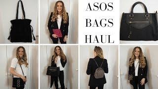 ASOS BAGS HAUL & TRY ON  FOR JUNE 2018