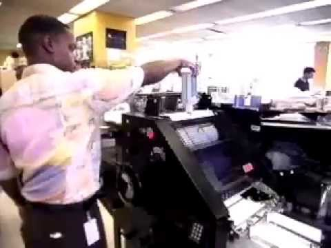 Printing Press Machine Operator Career Video