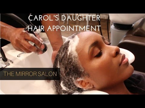My First Carol's Daughter Hair Appointment! Mirror Salon, Harlem (NY)
