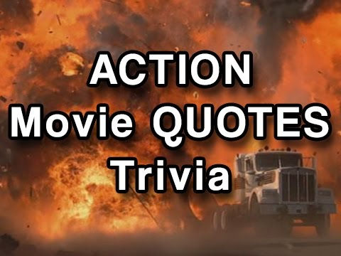 Movie Quotes Trivia - Action or Adventure