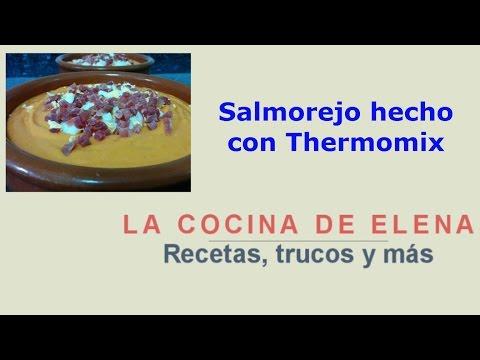 SALMOREJO HECHO CON THERMOMIX