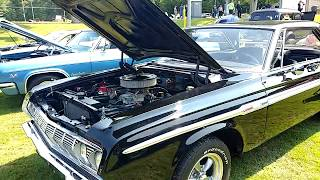1964 BLACK PLYMOUTH SPORT FURY 2 DOOR SEDAN