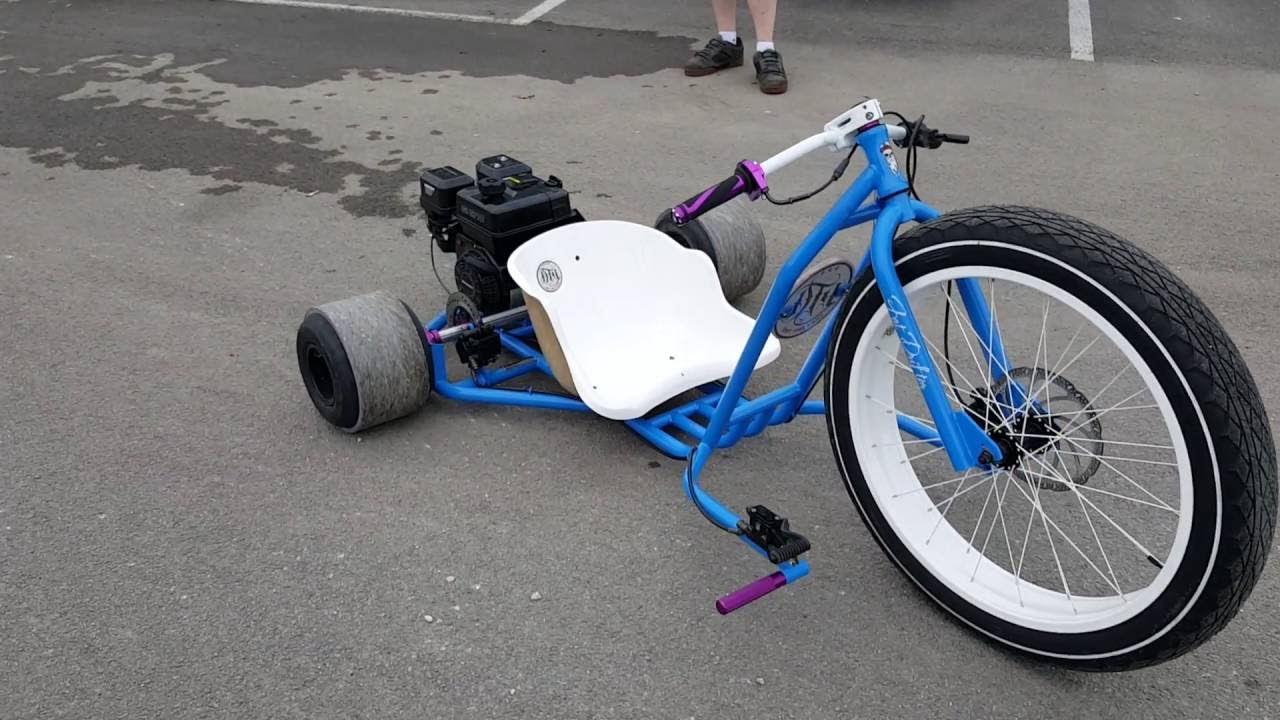 Drift Trike Fat Ryder Motorized Gas Drift Trike For Sale