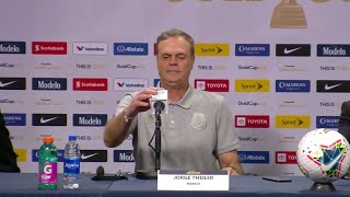 Conferencia de Prensa: Jorge Theiler - Haiti (0) - (1) Mexico