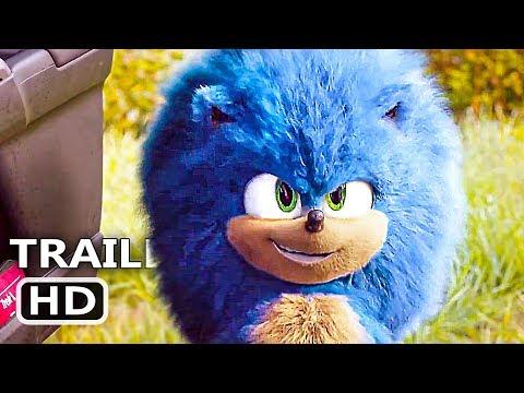 "SONIC THE HEDGEHOG ""Fluffy Sonic"" Trailer (NEW 2020) Jim Carrey Movie HD"