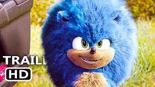 "SONIC THE HEDGEHOG ""Fluffy Sonic"" Trailer (NEW 2020) Jim Carrey Movie HD"