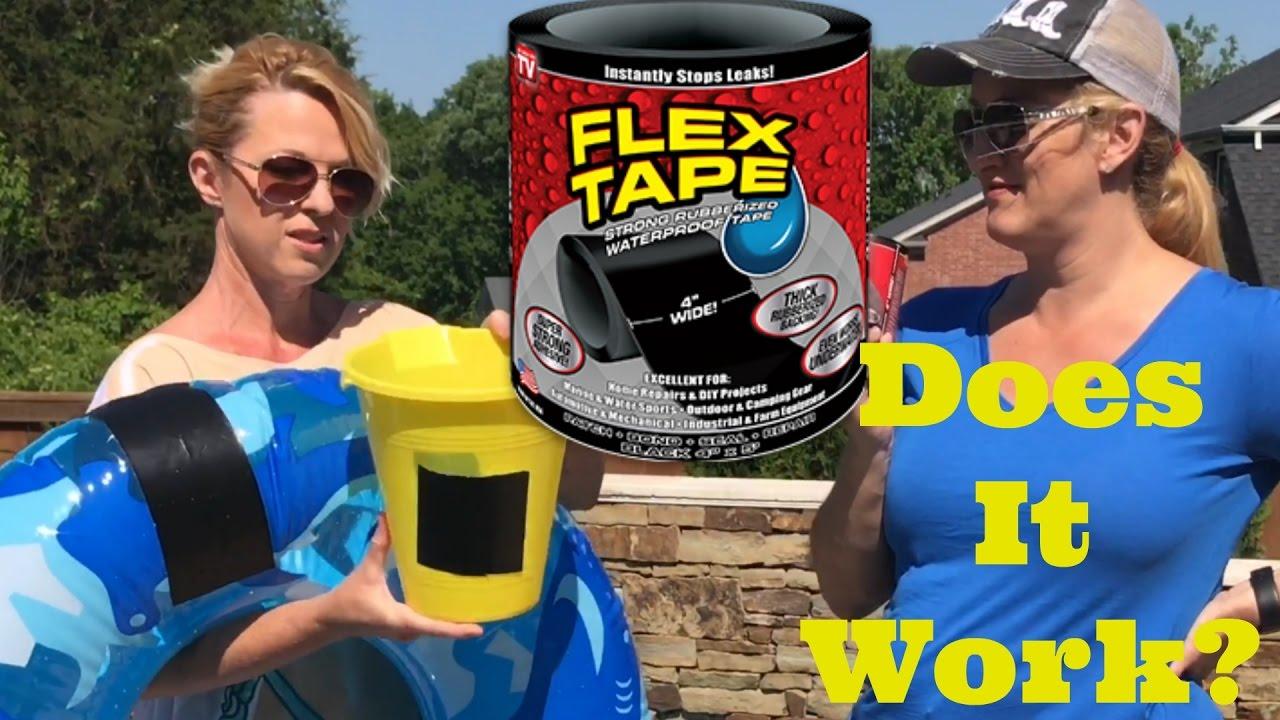 Flex Seal Tape Reviews >> Flex Tape Review As Seen On Tv