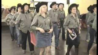 Country Line Dance -  Canadian Stomp - Musique : Any Man of Mine (Shania Twain)