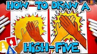 How To Draw A High-Five