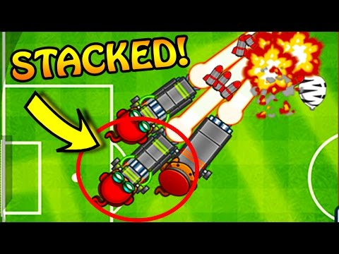 Bloons TD Battles | STACKING RAYS OF DOOM!!! - HYDRA DOOM TOWERS! CRAZIEST STRATEGY EVER!