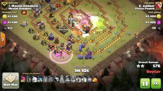 Clash of Clans   ATTACK WAR TH11   BOWLER VALKYRIE attack 3 star [CLASH COMMUNITY]
