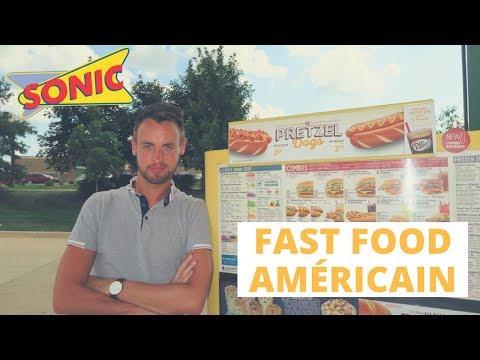 JE TESTE UN FAST FOOD AMÉRICAIN