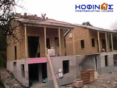 KOFINAS PREFABRICATED HOUSES GREECE – CONSTRUCTION AT KYMI