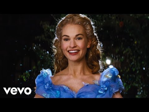 "Lily James  A Dream is a Wish Your Heart Makes from Disney's ""Cinderella"""