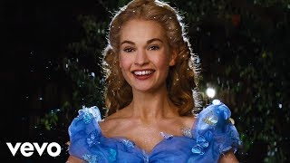 "Lily James - A Dream is a Wish Your Heart Makes (from Disney's ""Cinderella"") シンデレラ 検索動画 26"