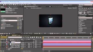 iphone 5 screen animation after effects tutorials