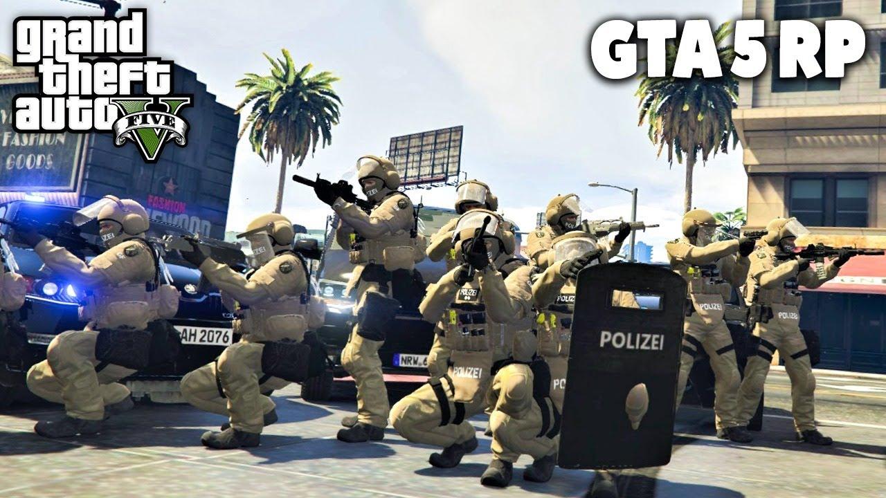 SEK im EINSATZ in GTA RP! - GTA 5 Roleplay Online - Deutsch