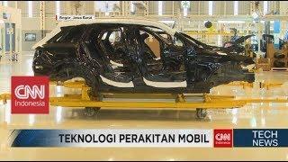 Ternyata Begini Teknologi Mercedes Benz Indonesia Merakit Mobil