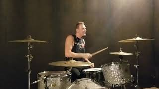 You Give Love A Bad Name - Bon Jovi drum cover by Landon Hall (short video)