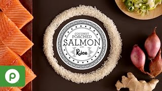 Coconut Poached Salmon With Rice From Publix