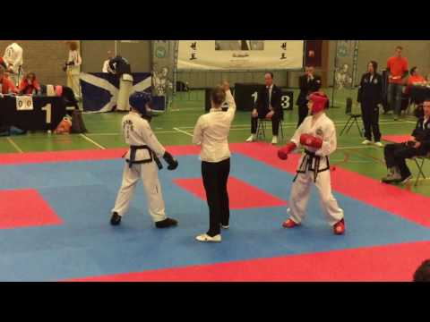 Dutch Open Ross Crawford rd 1 Sparring