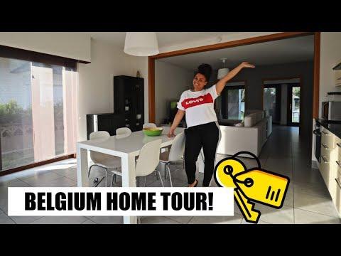 MY BELGIAN APARTMENT TOUR! *finally*