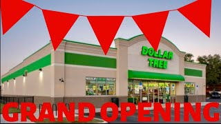 SHOP WITH ME DOLLAR TREE GRAND OPENING