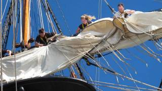 HMB Endeavour replica celebrates 18 years