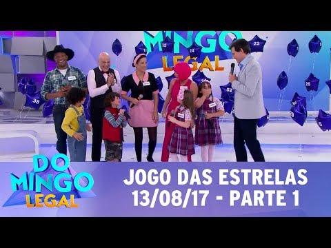 Jogo das Estrelas | Domingo Legal (13/08/17) - Parte 1