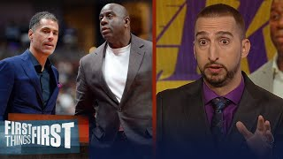 Nick and Cris on report that Magic ignored pleas to keep Lopez & Randle | NBA | FIRST THINGS FIRST