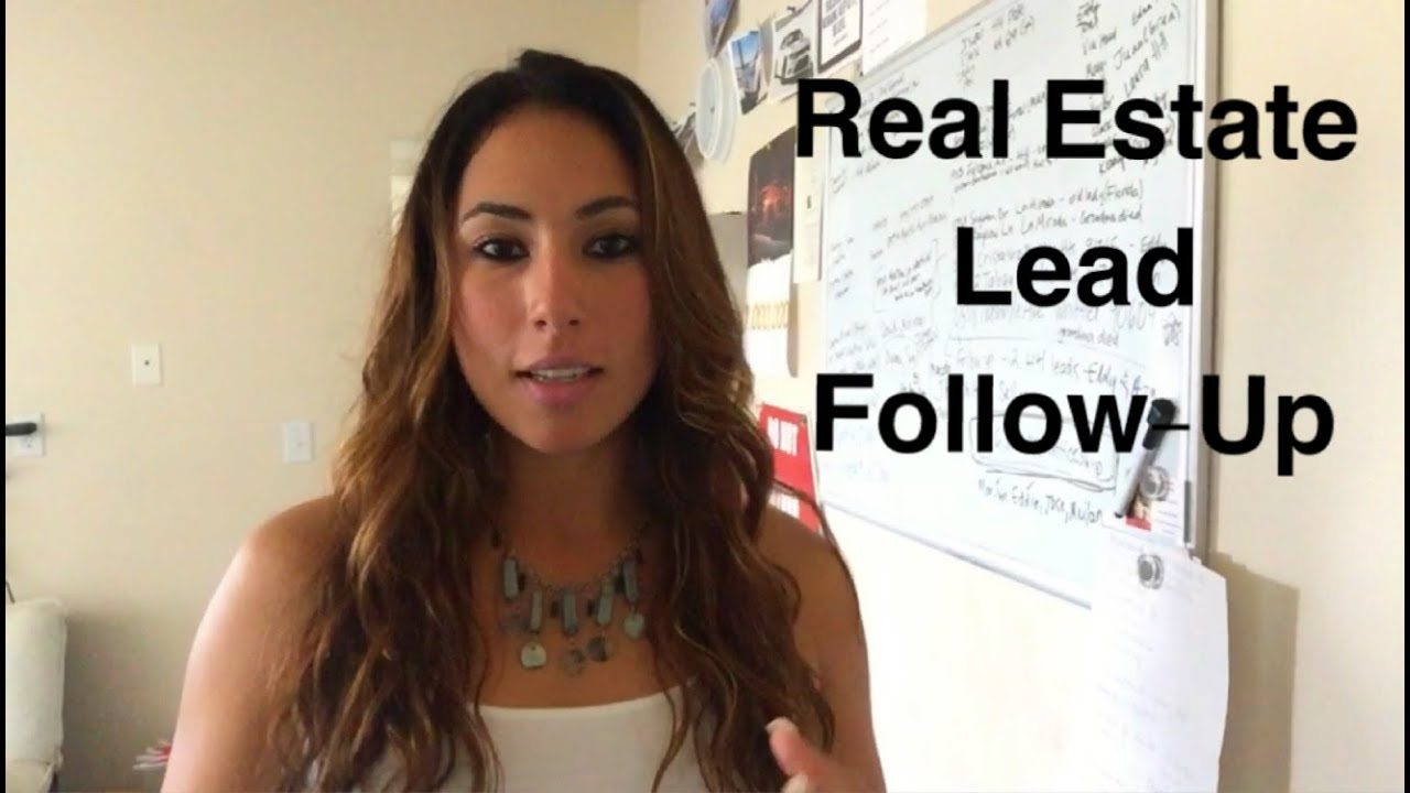 Real Estate Follow Up : Real estate lead follow up youtube