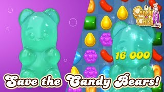 Candy Crush Soda Saga: Save the Candy Bears