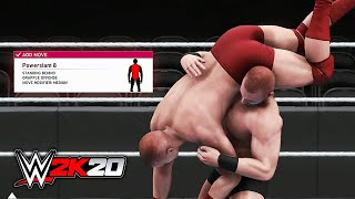 WWE 2K20 All NEW Moves & Move Animations (100+ Finishers)