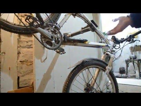 #Самодельная ремонтная стойка для велосипеда
