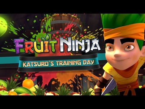 Fruit Ninja Origins | Katsuro's Training Day